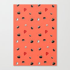 Sushi Saturday Canvas Print