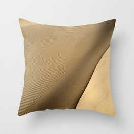"""""""Dune"""" by Murray Bolesta Throw Pillow"""