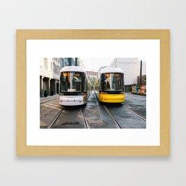 Street Cars Framed Art Print