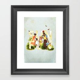 Sun Fun II Framed Art Print