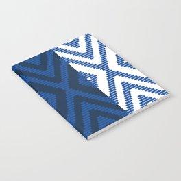 Rattan in Blue Notebook