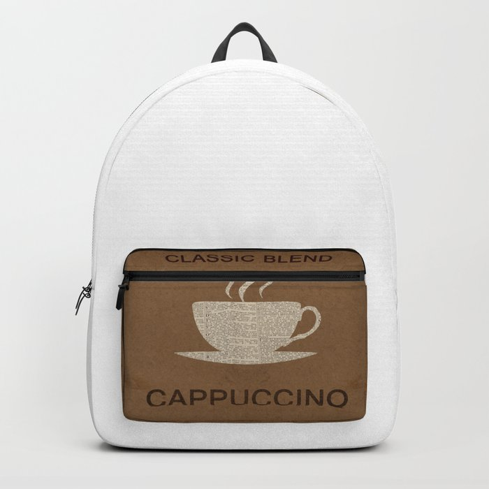 VINTAGE COFFEE  Pop Art Backpack