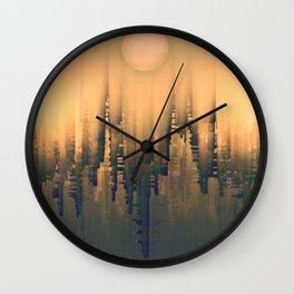 Reversible Space III Wall Clock