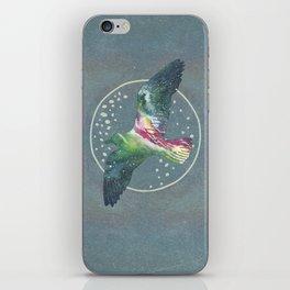 Cosmic Bird iPhone Skin