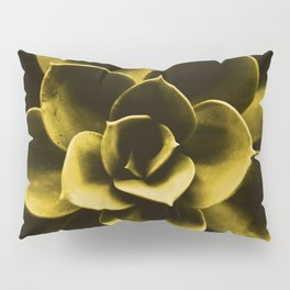 Succulent Plant In Olive Color #decor #society6 #homedecor Pillow Sham
