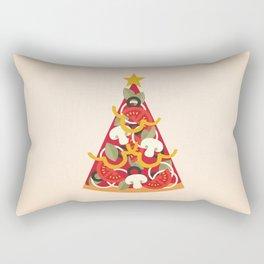 PIZZA ON EARTH - VEGO/VEGAN VERSION Rectangular Pillow