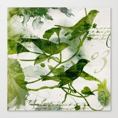 Birds (square 3) Canvas Print