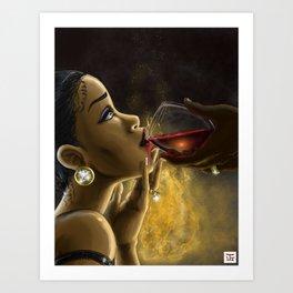 Drink up Art Print
