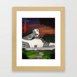 Shoe Value Framed Art Print