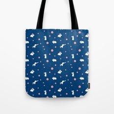 bunny hop Tote Bag