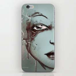 Rusted Girl iPhone Skin