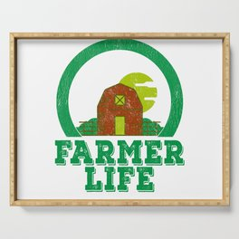 Farmer Life Earth Day 2019 Serving Tray