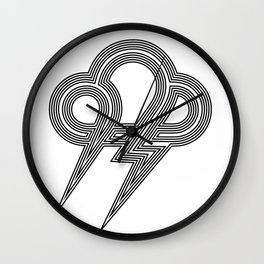 LightningII Wall Clock