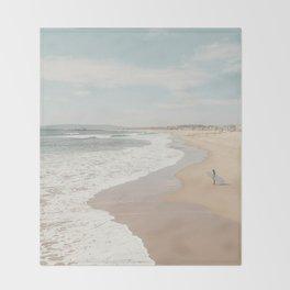 California Beach Throw Blanket