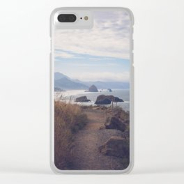 Path to Cannon Beach Clear iPhone Case
