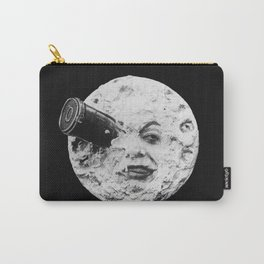 A Trip to the Moon 1902 - Artwork for Wall Art, Prints, Posters, Tshirts, Men Women Kids Carry-All Pouch