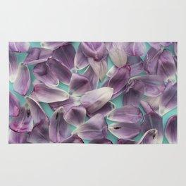Purple Rose Petals x Ultraviolet Rug