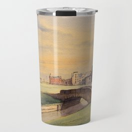 St Andrews Golf Course Scotland 18th Hole Travel Mug