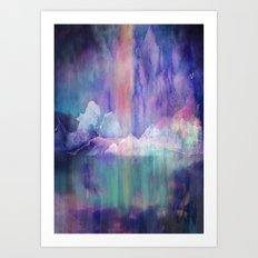 Northern Lights Adventure Art Print