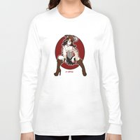 pirate Long Sleeve T-shirts featuring Pirate by AnnaCas