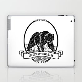 Glacier National Park Emblem Laptop & iPad Skin