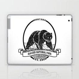 Glacier National Park Emblem Laptop & iPad Skin
