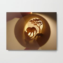 """Roll """"Africa"""" (Rouleau """"Afrique"""") Metal Print"""