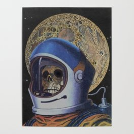 Man From The Moon Poster