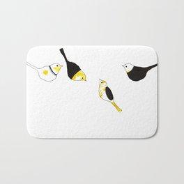 four birds Bath Mat