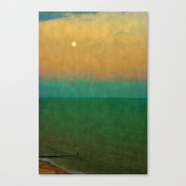 Sea ~ Moon Canvas Print