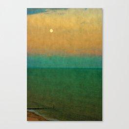 Sea ~ Moon Canvas Print