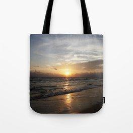 Bonita Beach Sunset Tote Bag