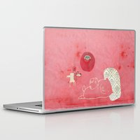 pig Laptop & iPad Skins featuring Pig by yael frankel