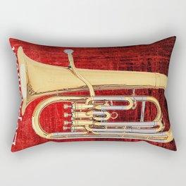 Euphonium: The Baby Tuba Rectangular Pillow