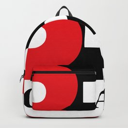 Big Baller Brand in red black Backpack
