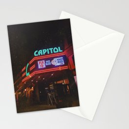 Vintage Movie Theater Stationery Cards