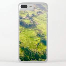 Vietnam Fields - Sa Pa Clear iPhone Case