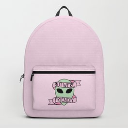 We Are Friendly (Pink) Backpack