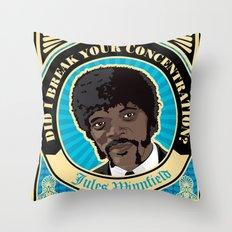 Jules Winnfield Portrait Throw Pillow