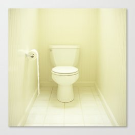 """Toilet"" Canvas Print"