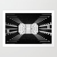 tron Art Prints featuring Tron by Clay Taylor