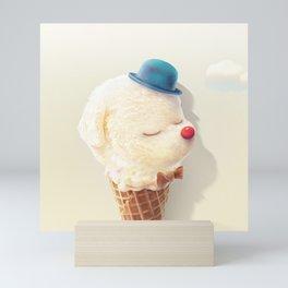 Vanilla Bichon Mini Art Print