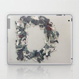 Letter D in paint Laptop & iPad Skin