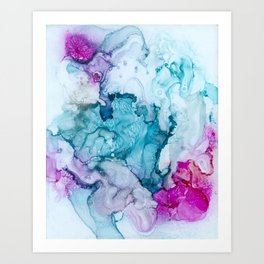 Candied Coral Art Print