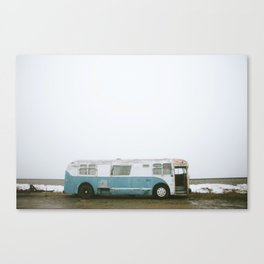 On Tour Canvas Print
