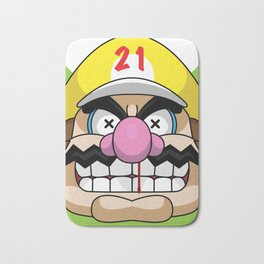 Wario X SAVAGE Bath Mat