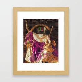 Follow The Leader Framed Art Print