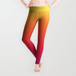 Ombre Rainbow Fade Leggings