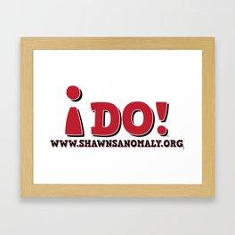 IDO! Framed Art Print