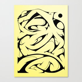 Morph Canvas Print